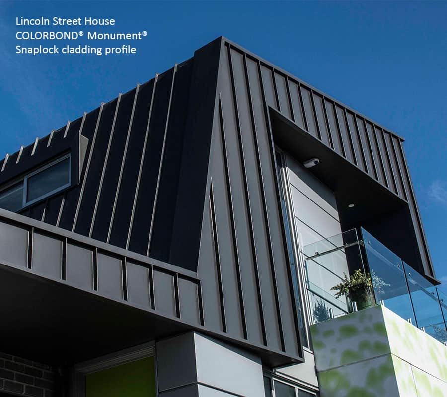 Snaplock Metal Cladding Systems