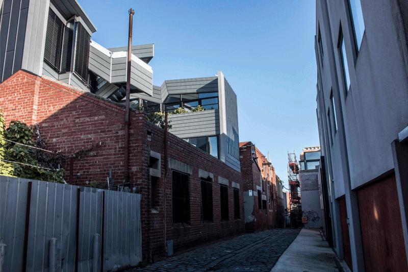 Metal Cladding Systems Mattinglys Lane North Melbourne