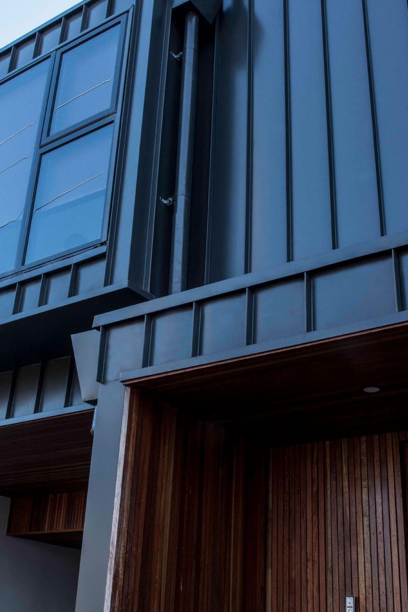 Highett Street Townhouses Featuring Nailstrip By Metal
