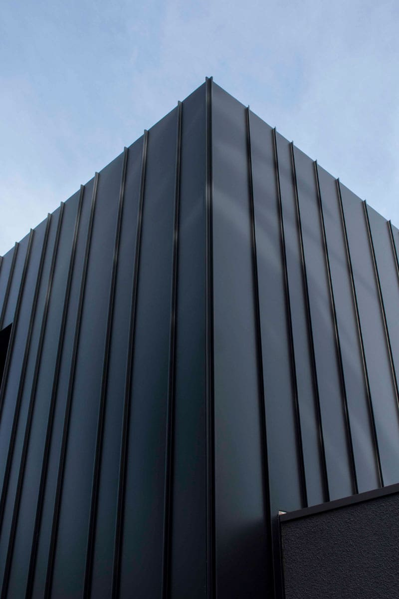 rippon grove apartments features standing seam cladding by metal cladding systems