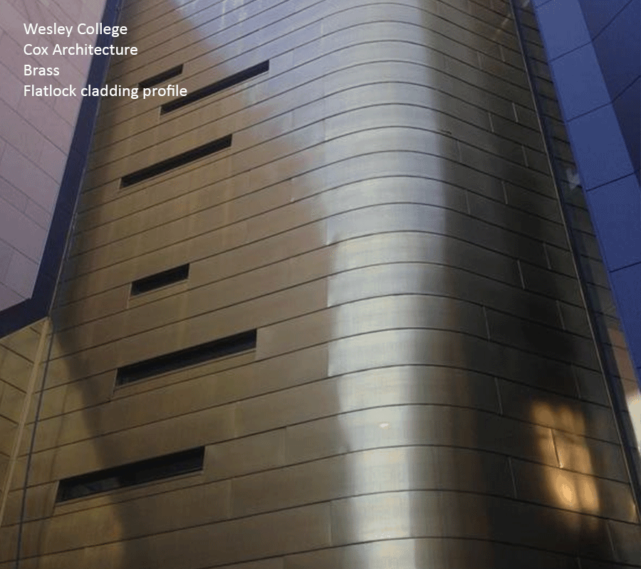 Brass Metal Cladding Systems