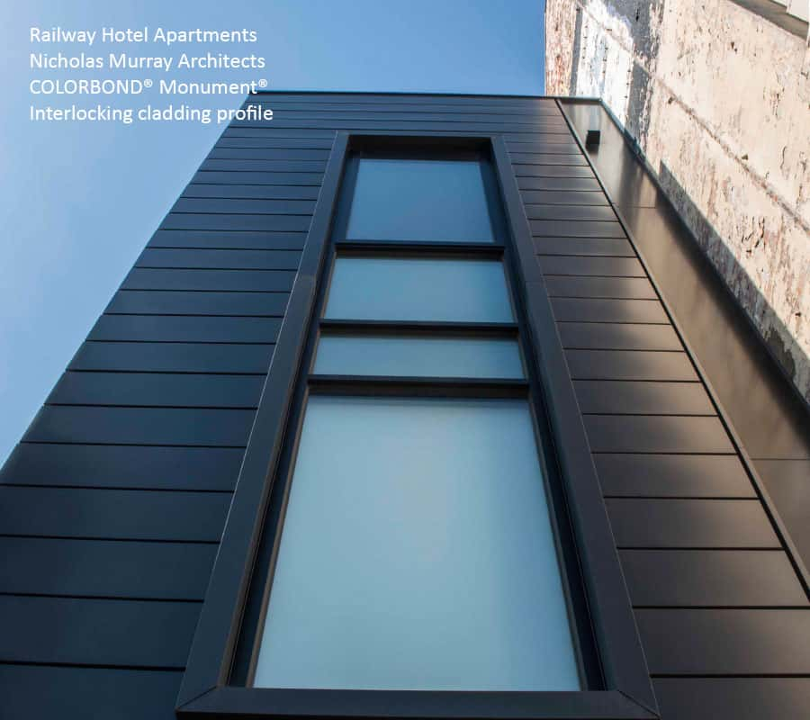 Interlocking - Metal Cladding Systems