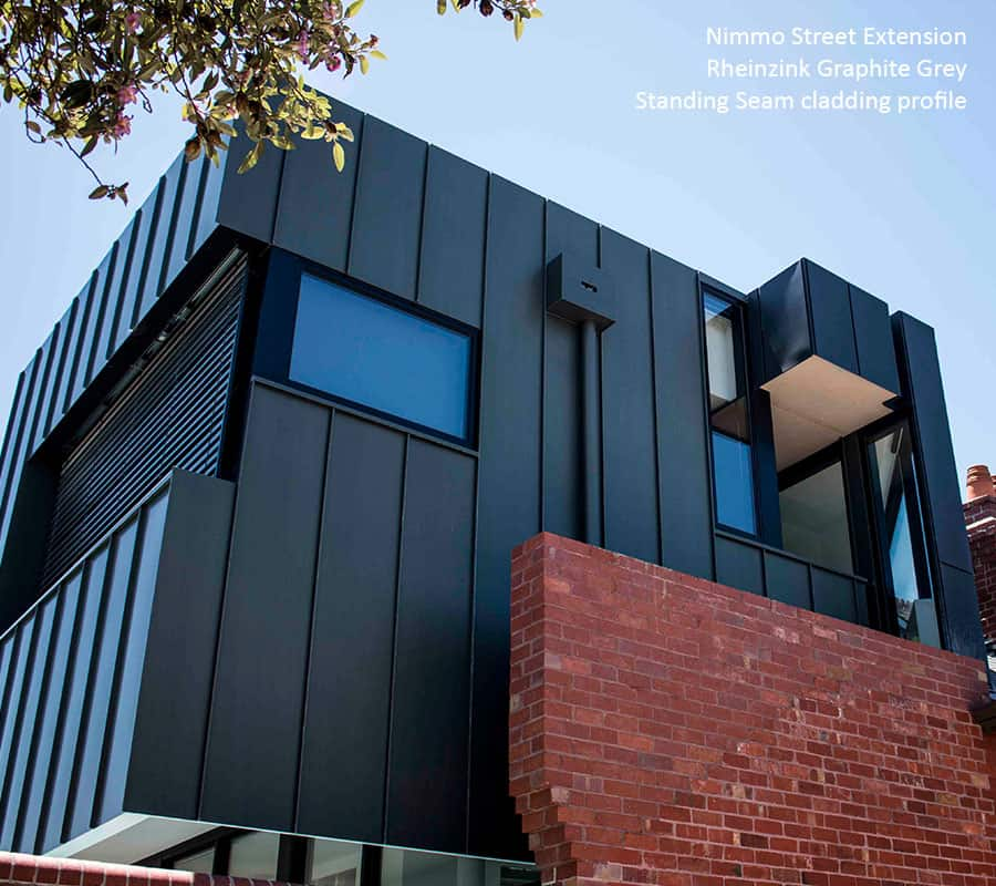 Titanium Zinc Metal Cladding Systems