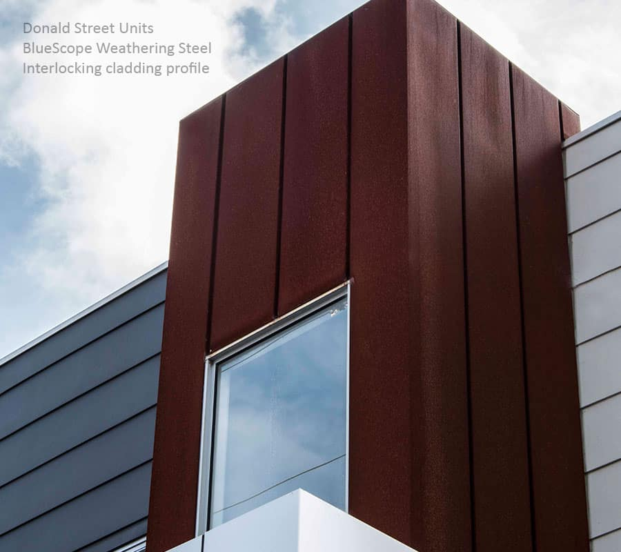 Weathering Steel Metal Cladding Systems