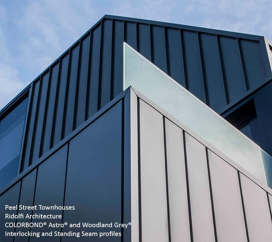 Colorbond 174 Steel Metal Cladding Systems