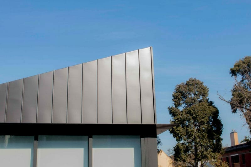The Carlton Residences Feature Standing Seam Cladding By