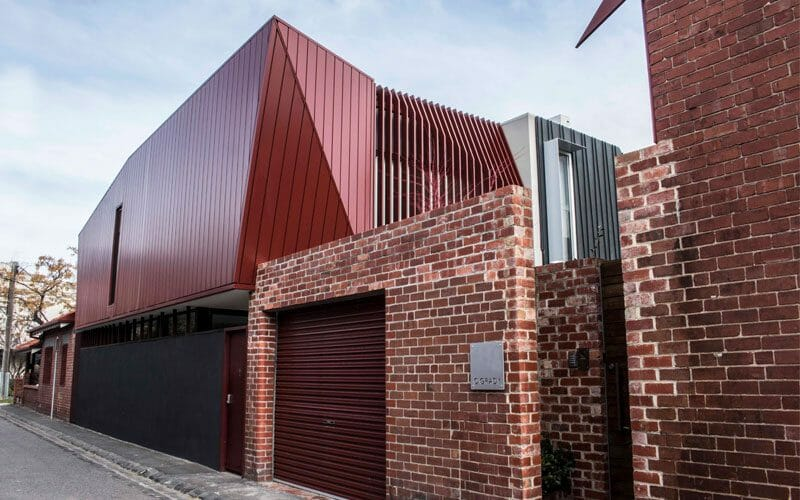 O Grady Street House Middle Park By Metal Cladding Systems