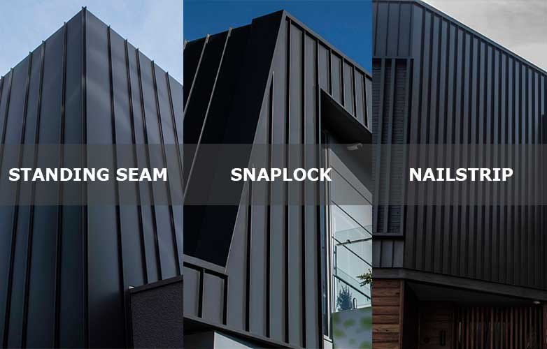 Standing Seam Snaplock Or Nailstrip Selecting Seam